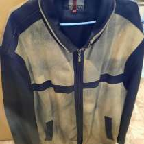 Кожаная куртка мужсткая БУ, в Апрелевке