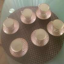 Чашки кофейные винтажные 6 шт, в Москве