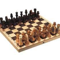 Шахматы лакированные Обиходные 290х145х38 новые с доставкой, в Волгограде