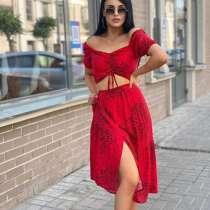 Женский красный костюмчик, в Брянске