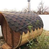 Баня бочка 2 метра, в Краснодаре