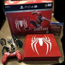 PS4 Pro Spider-Man with Limited Edition Box New and 1TB, в г.Russingen