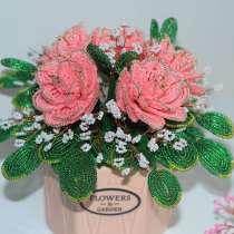 Цветы из бисера. Розы из бисера, в Чебоксарах