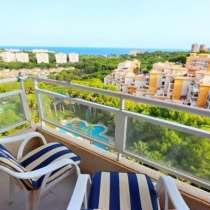Недвижимость в Испании,Квартира с видами на море в Кампоамор, в г.Торревьеха