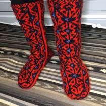 Носки мужские вязаные, дагестанские джурабы, в Москве