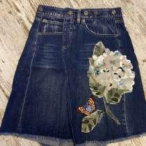 Продаю юбку джинсовую DG, в Краснодаре