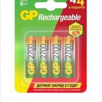 Gp аккумуляторы АА ёмкость 2650. Пальчиковые аккумуляторы, в Уфе