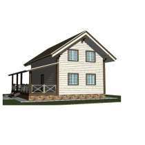 Проект деревянного дома, в Ярославле