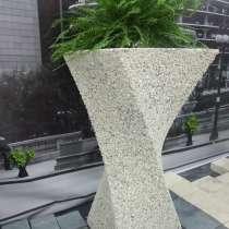 Уличные вазоны из бетона от производителя от 1500 руб./шт, в Перми