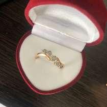 Золотое кольцо с фианитами, в г.Минск