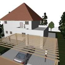 Под земельный участок 3D модель дома, мини отеля и т. д, в г.Баку