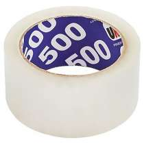 Клейкая лента упаковочная 48мм*66м UNIBOB 500 (прозрач), в Краснодаре