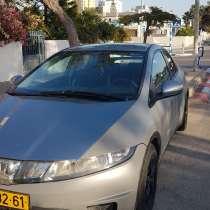 Продаю машину хонда сивик автомобиль легковой транспорт авто, в г.Ашдод