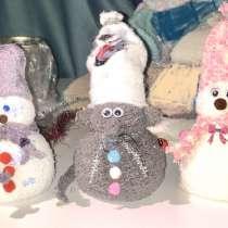 Игрушки Снеговики, мышки, котики, в Москве