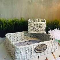 Набор плетёных интерьерных корзинок Париж, в Королёве