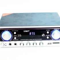 Усилитель звука стереоусилитель для колонок UKC SN-305BT, в г.Киев