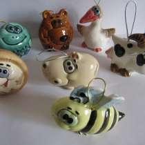 Елочные игрушки, авторская керамика Вербилки. новые, в Москве