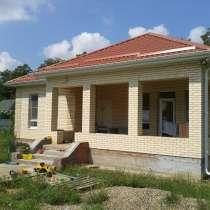 Новый дом 100 кв. м. на 10 сот. в р-не Витаминкомбината, в Краснодаре