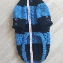 Вязанный свитерок для собачки, в г.Лиепая