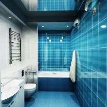 Ремонт ванных комнат и туалетов под ключ и частично, в Владимире