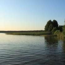 Участок в заказнике на берегу озера 25 сот, в г.Городок