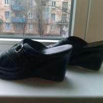 Кожаные полу-туфли, в г.Кривой Рог