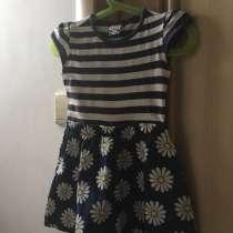 Детское платье с ромашками для девочки 4-х лет, в Чебаркуле