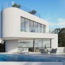 Дизайнерская вилла с видом на море в Бенидорме, Испания, в г.Бенидорм