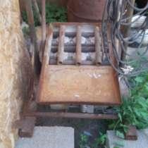 Станок пескоблочный +бетономешалка, в г.Павлодар