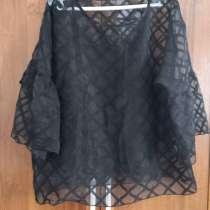 Вечерняя блузка лёгкая с отдельной маечкой, в г.Атырау