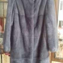 Норковая Шуба цвет графит, размер 50, в Старом Осколе