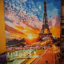 Картина с видом на Эйфелева башню, в Белорецке