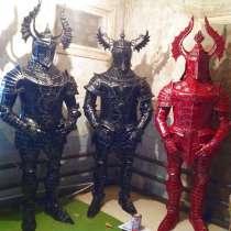 Рыцарь тевтонский-скульптура из металла, в Краснодаре