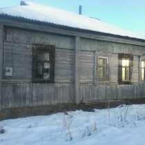 Бревенчатый дом и участок в Мосальском районе, в Одинцово