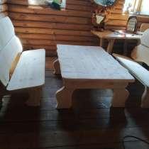 Лавки и стол, в г.Миоры