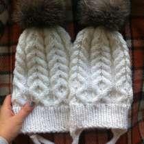 Набор вязаных шапок ручной работы, в Томске