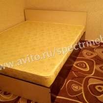 Кровать с матрасом двуспальная, в Москве