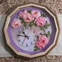 """Часы """"Садовые розы"""", в Красном Сулине"""