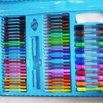 Набор для рисования чемодан 208 предметов Цвет синий, в г.Киев