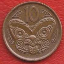 Новая Зеландия 10 центов 2006 г. новый тип Оттава, в Орле