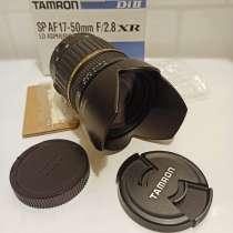 Объектив Tamron SP AF 17-50 mm f/ 2.8 XR, в Москве