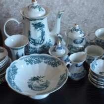 Чайный сервиз. Коростенский фарфор. 1997-1999 год, в Зеленограде