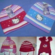 Новые детские шапки для девочек, в Москве