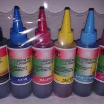 Доставка 300тг. Чернила 6 - ти цветные для принтеров, в г.Астана