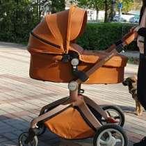Продам коляску hot mom 2в1 экокожа, в Краснодаре