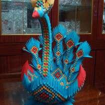 Павлин – ладья из 3 d модульного оригами, в г.Мелитополь
