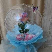Роза в шаре, в Волгограде