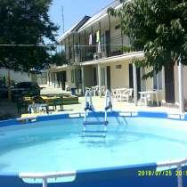 Продается гостиница 18 номеров+дом 7*7 в центре пос витязево, в Анапе