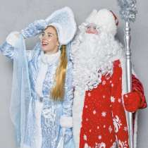 Дед Мороз и Снегурочка на Дом, в Москве