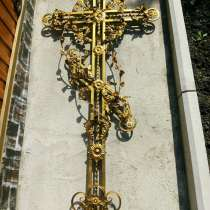 Кованый крест, в Альметьевске